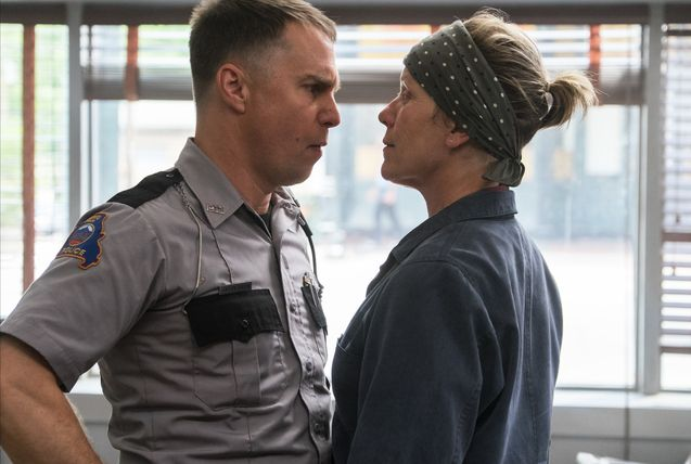 Photo Frances McDormand, Sam Rockwell