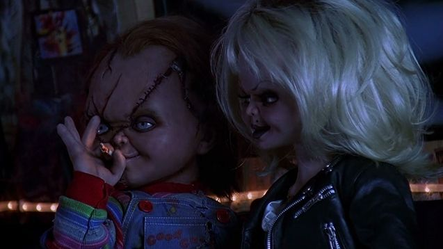 Photo Chucky et Tiffany