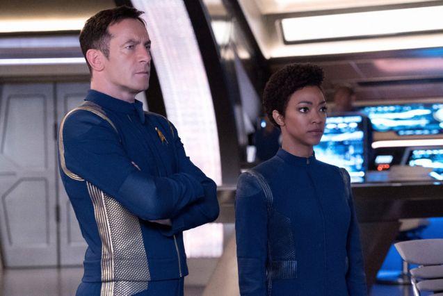 Photo Star Trek : Discovery, Sonequa Martin-Green, Jason Isaacs