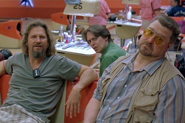 Photo Jeff Bridges, John Goodman, Steve Buscemi