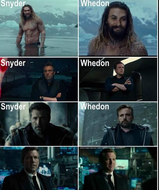 Comparatif Whedon Snyder