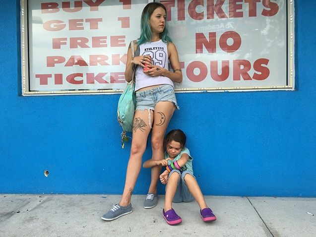 Photo Bria Vinaite, Brooklynn Prince