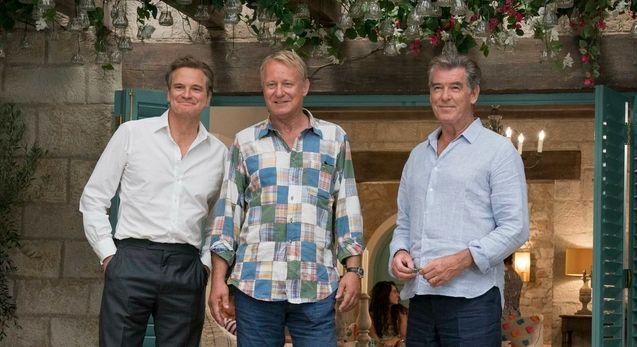 Photo , Colin Firth, Stellan Skarsgård, Pierce Brosnan