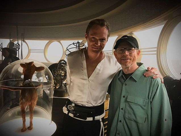 Photo Ron howard et Paul Bettany