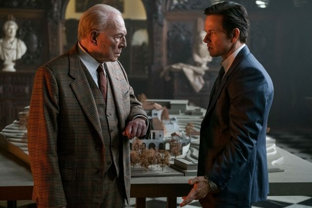 Photo Christopher Plummer, Mark Wahlberg