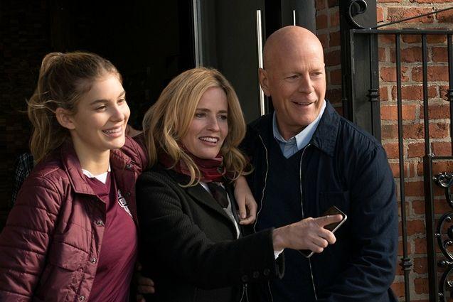 Photo Bruce Willis, Elisabeth Shue