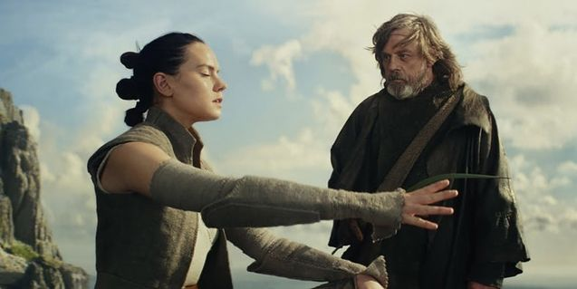 Photo Daisy Ridley, Mark Hamill