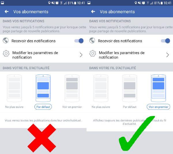 Facebook Ecran Large Smartphone