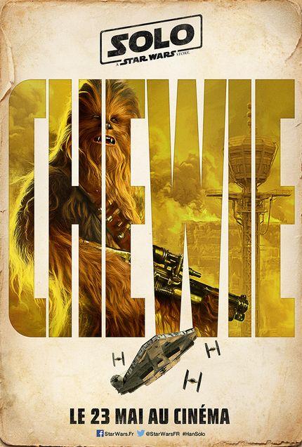 Affiche Solo Chewbacca