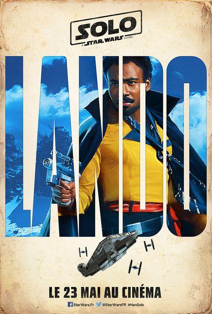 Affiche Solo Lando Calrissian
