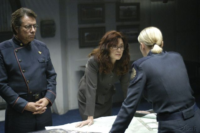 Photo Mary McDonnell, Edward James Olmos