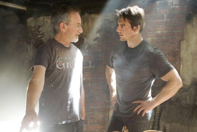 Photo Tom Cruise, Steven Spielberg