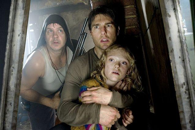 Photo Tom Cruise, Tim Robbins, Dakota Fanning