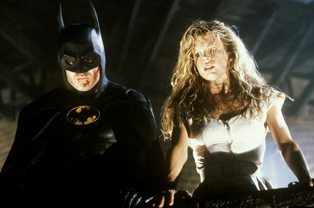 Photo Kim Basinger, Michael Keaton