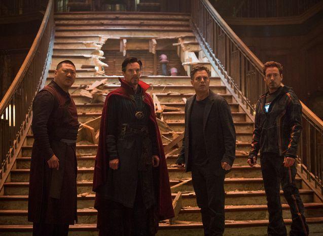 Photo Robert Downey Jr., Benedict Cumberbatch, Mark Ruffalo, Benedict Wong
