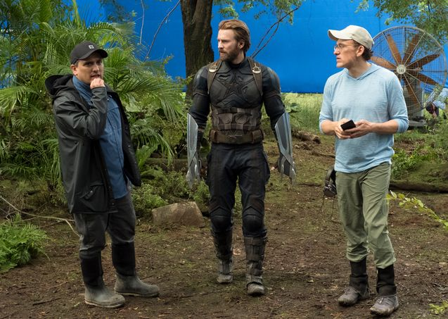 Photo , Joe Russo, Anthony Russo, Chris Evans