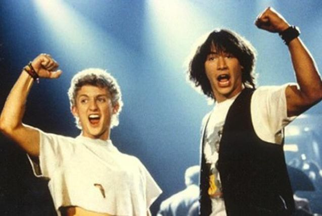 photo Bill & Ted