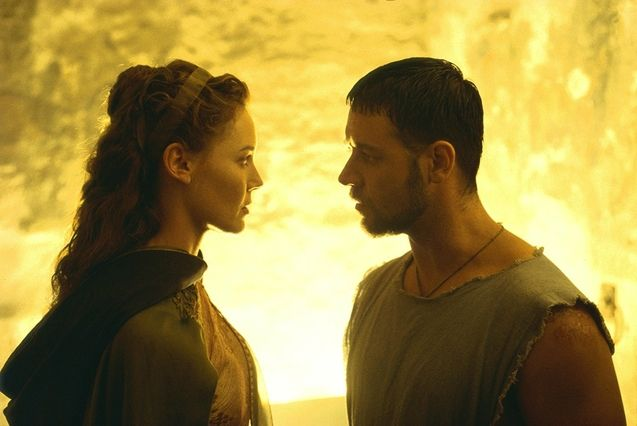 photo, Russell Crowe, Connie Nielsen
