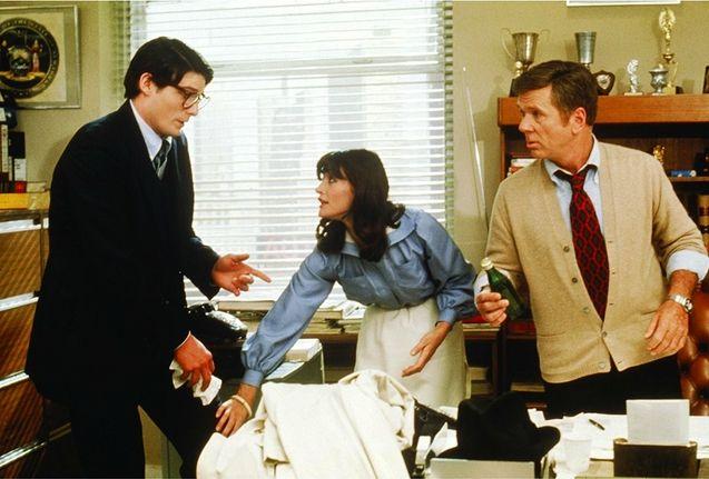 photo, Christopher Reeve, Margot Kidder