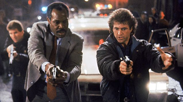 photo, Mel Gibson, Danny Glover