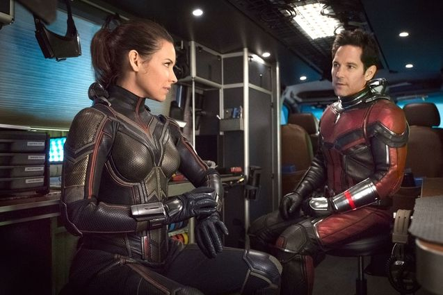 photo, Evangeline Lilly, Paul Rudd