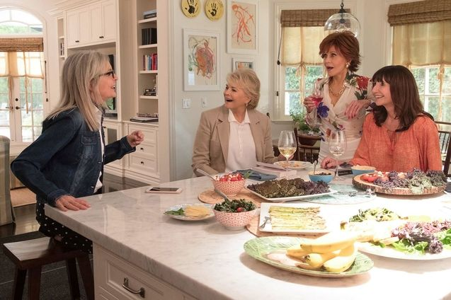 photo, Candice Bergen, Jane Fonda, Diane Keaton, Mary Steenburgen