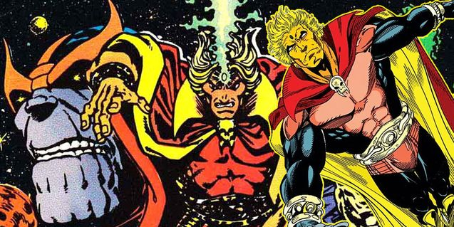 Adam Warlock, dossier Marvel