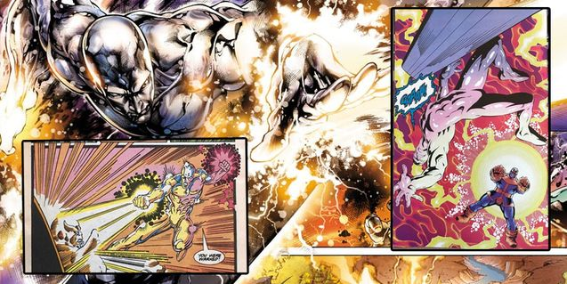 Silver Surfer, dossier Marvel