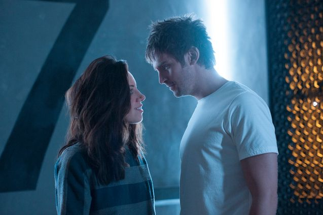 photo, Dan Stevens, Aubrey Plaza