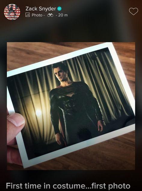 Henry Cavill, Zack Snyder