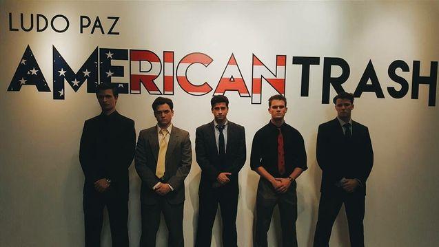 Photo Ansel Elgort, Taron Egerton, Ryan Rottman, Jeremy Irvine, Thomas Cocquerel