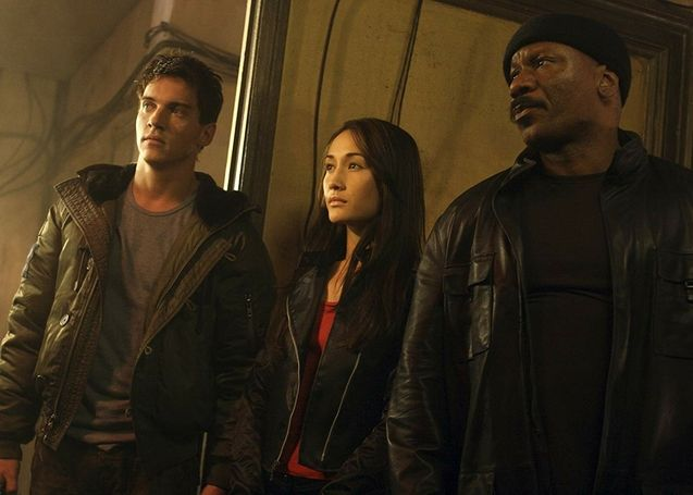 photo, Jonathan Rhys Meyers, Maggie Q, Ving Rhames