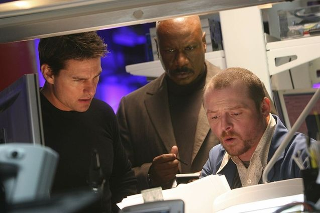 photo, Tom Cruise, Ving Rhames, Simon Pegg