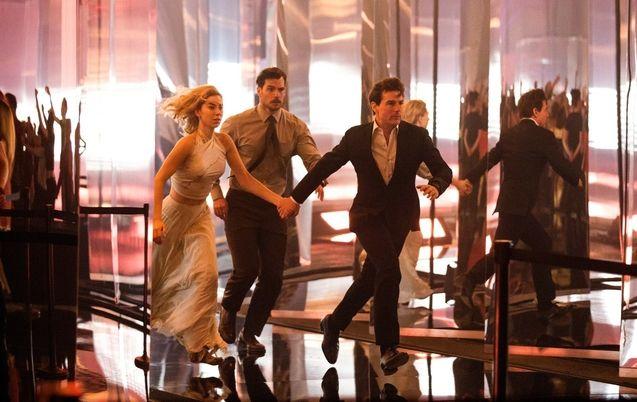 photo, Tom Cruise, Henry Cavill, Vanessa Kirby