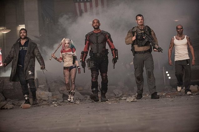 photo, Will Smith, Margot Robbie, Joel Kinnaman