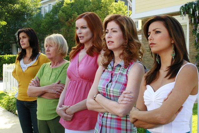 photo, Desperate Housewives, Eva Longoria, Marcia Cross
