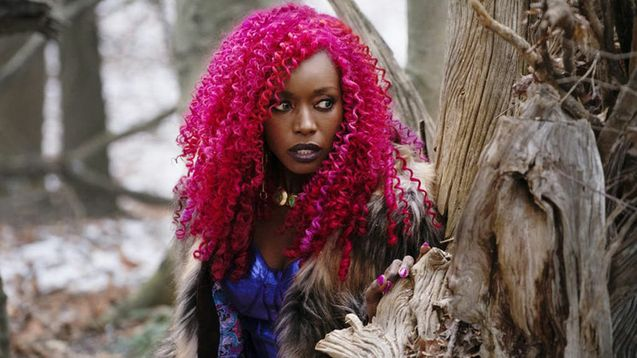 photo, Anna Diop, Starfire