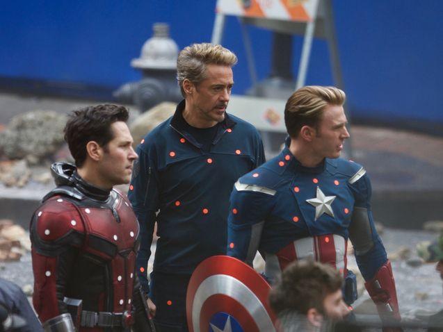 photo Ant-Man, Captain America et Iron Man