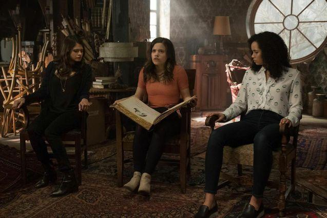 photo, Madeleine Mantock, Melonie Diaz, Sarah Jeffery