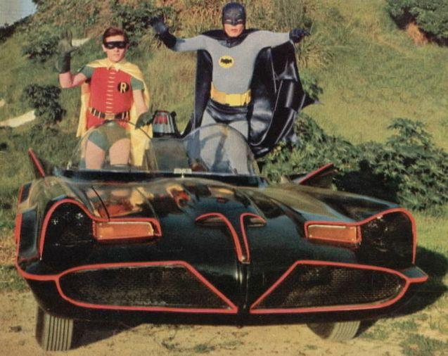 photo Batmobile 1966