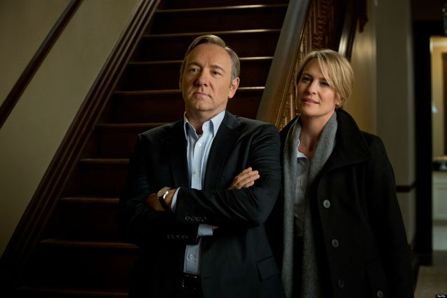 photo, Kevin Spacey, Robin Wright