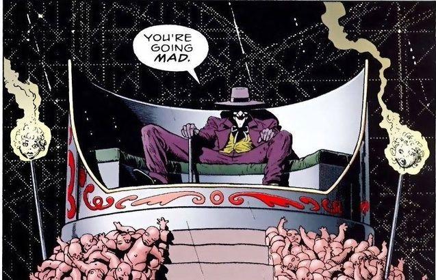 photo comics Killing Joke