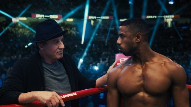 photo, Michael B. Jordan, Sylvester Stallone
