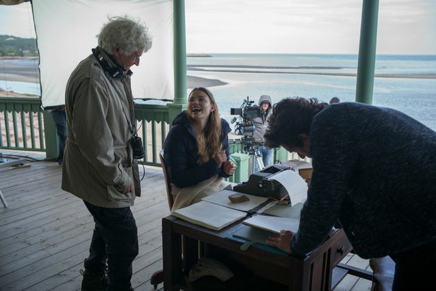Photo Jean-Jacques Annaud, Kristine Froseth, Patrick Dempsey