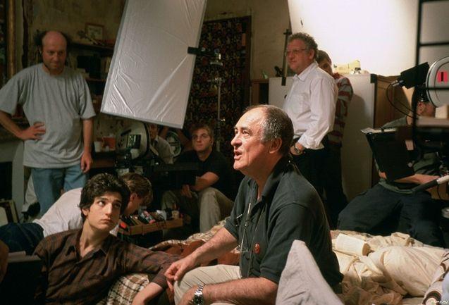 photo, Bernardo Bertolucci