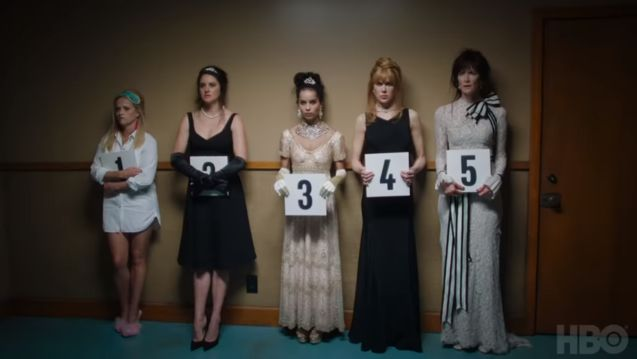 Photo Reese Witherspoon, Shailene Woodley, Zoë Kravitz, Nicole Kidman, Laura Dern