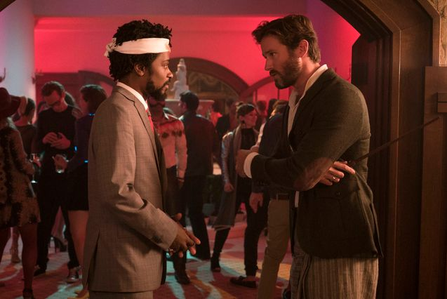 photo, Lakeith Stanfield, Armie Hammer
