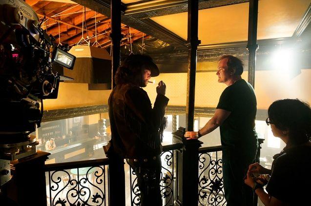 Photo Leonardo DiCaprio, Quentin Tarantino