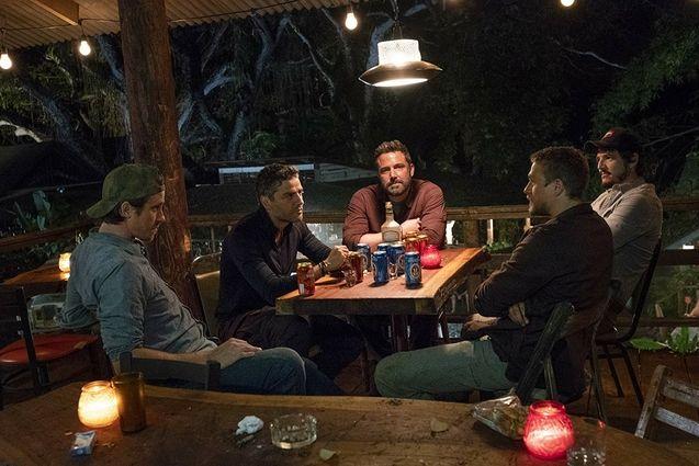 photo, Ben Affleck, Oscar Isaac