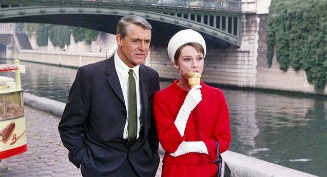 photo, Audrey Hepburn, Cary Grant